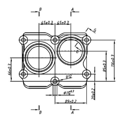 机油泵连接壳体