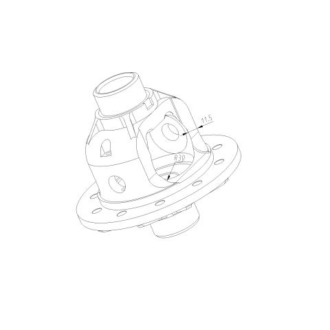 差速器壳体