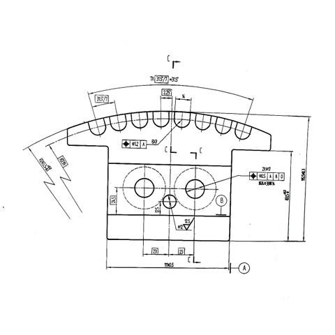 铁芯端板/压板