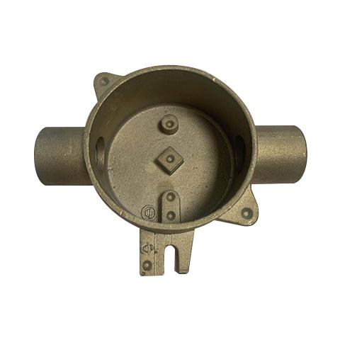 铜质电气开关接插件壳体