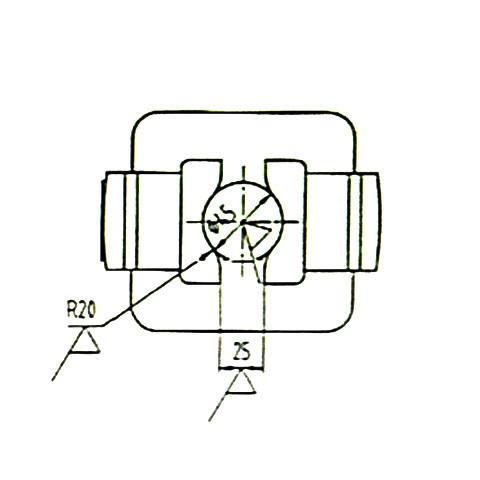 连接支架/哈夫/手轮