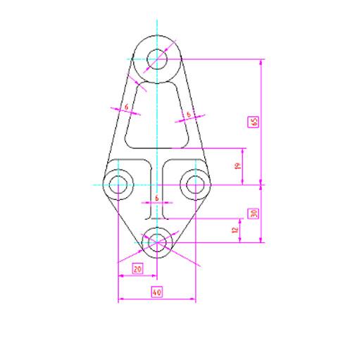 发电机支架