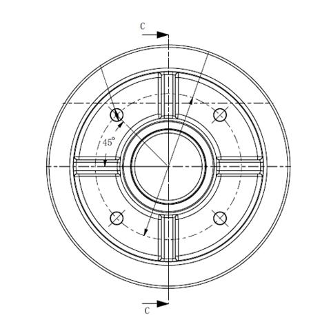 铁盖导向轮