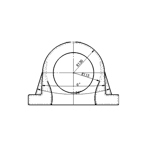 轴承座本体