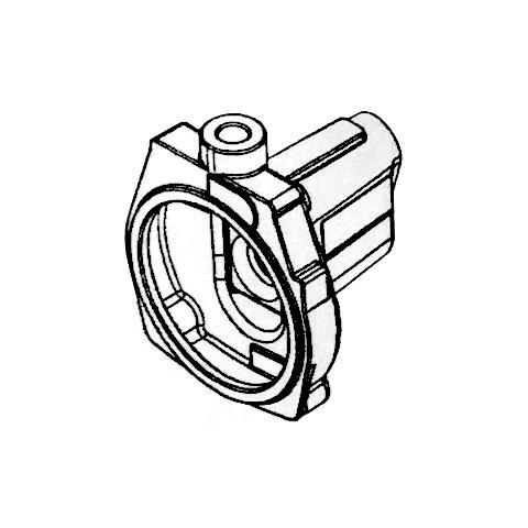 喷射泵泵体