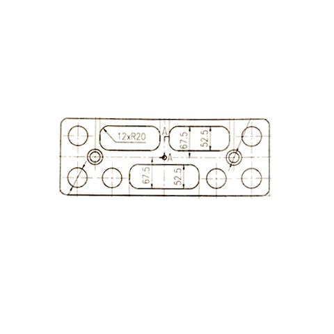 制动器垫板
