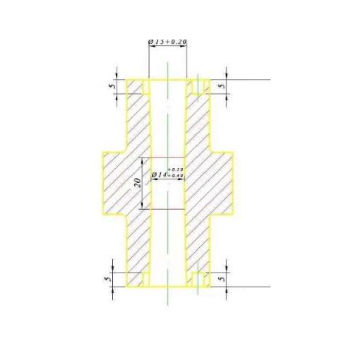 铝压铸内管